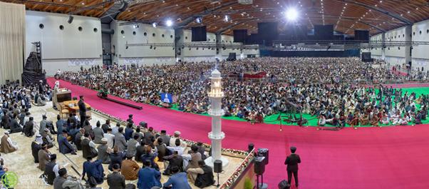 اختتام الجلسة السنوية في ألمانيا لعام 2019 بخطابٍ ملهمٍ للإيمان